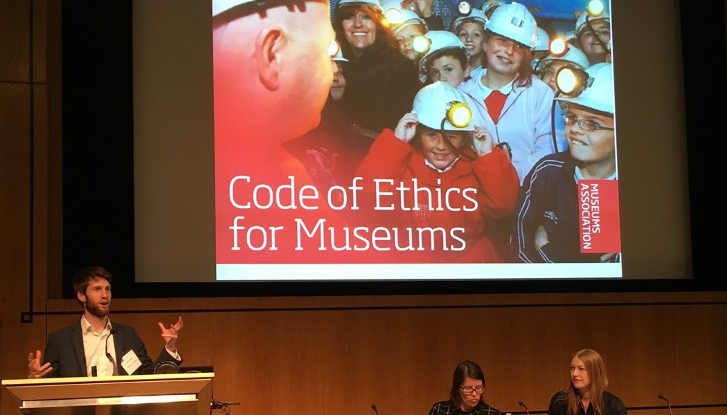 Launching the 2015 MuseumsAssociation's Code of Ethics