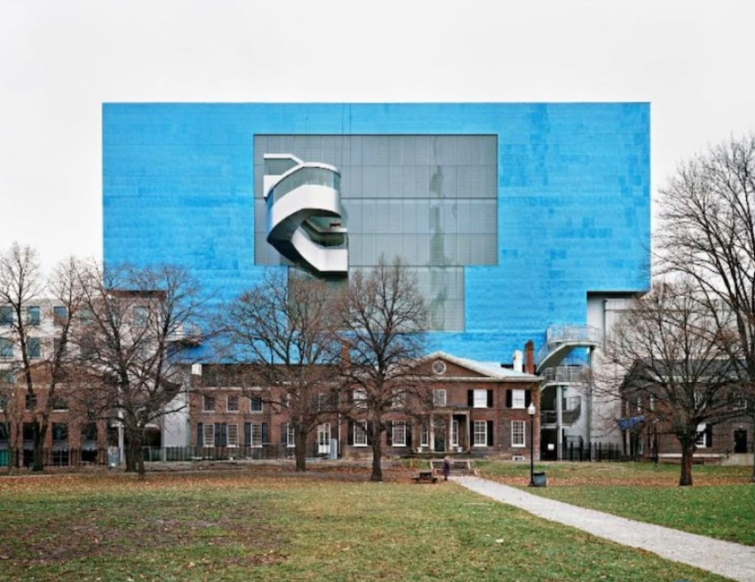 "Figure 10. ""Art Gallery of Ontario: Toronto View from Grange Park"" by Edward Burtynsky. 2008. Art Gallery of Ontario."