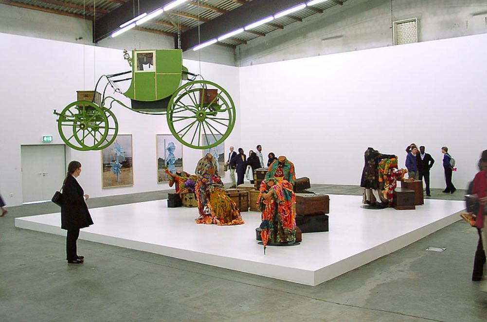 Figure 7. Yinka Shonibare,Gallantery and Criminal Conversation,Documenta 11, Fridericianum, Kassel 2002.