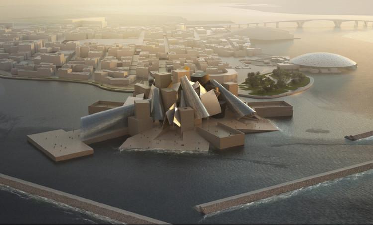 Figure 6. The Guggenheim Abu Dhabi by Frank Gehry (2017) in Saddiyat Island.