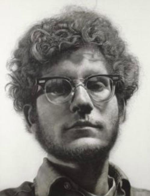 "Figure 17. ""Frank"" by Chuck Close. 1969. Minneapolis Institute of Art."