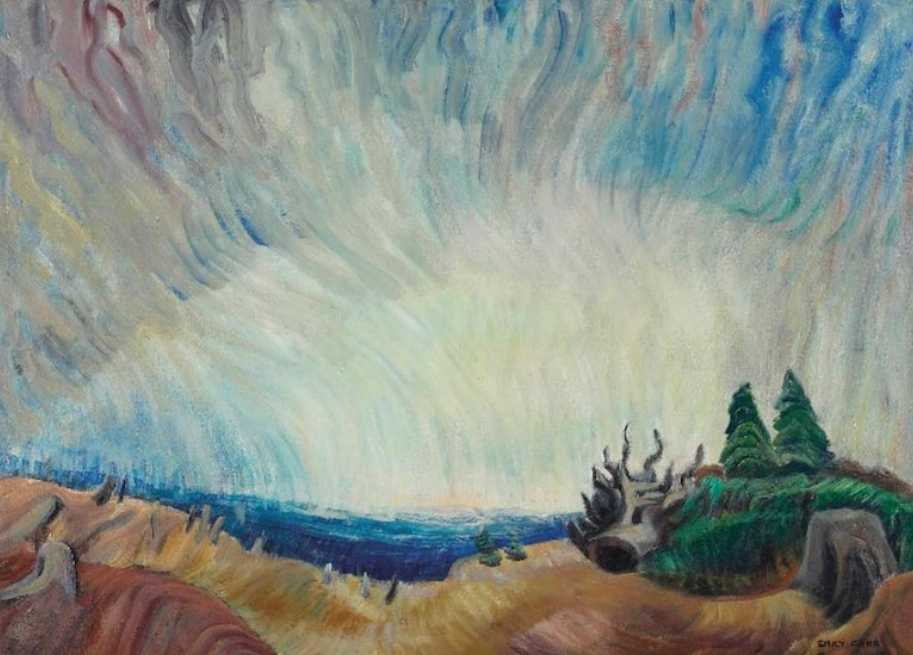 """Figure 8. """"Upward Trend"""" by Emily Carr. 1937. Art Gallery of Ontario."""