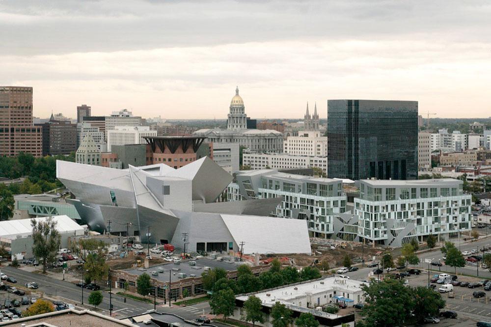 Figure 5. Liebeskind's museum building in Denver, Colorado, USA.
