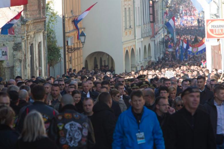 Vukovar memorial march (Vukovar, Croatia)