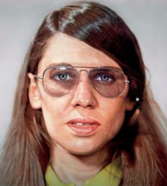 """Figure 18. """"Susan"""" by Chuck Close. 1971. Museum of Contemporary Art Chicago."""