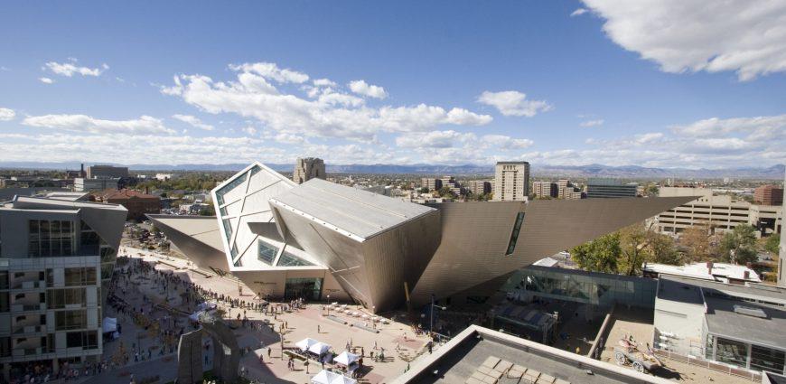 Figure 4. Daniel Liebeskind's Hamilton addition to the Denver Art Museum (2006).